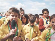 Imatge del vídeo reportatge de la Jamborinada