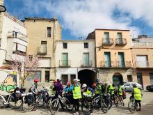 Ruta en bicicleta de l'AEiG Jaume Caresmar d'Igualada